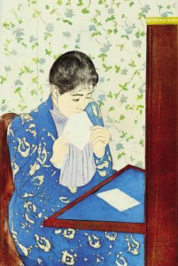 The Letter No.1 by Mary Cassatt