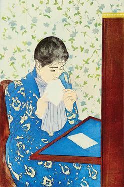 The Letter No.1 by Mary Cassatt