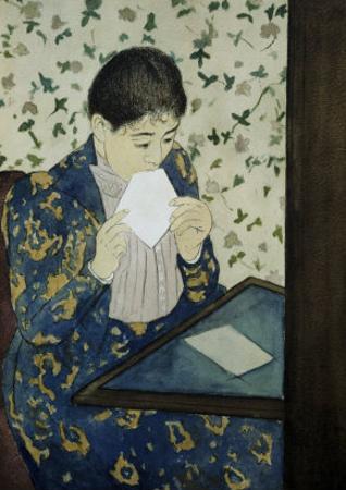 The Letter by Mary Cassatt
