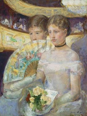 The Loge, 1882 by Mary Cassatt
