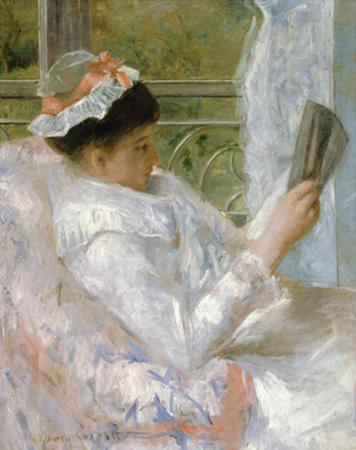 The Reader (Lydia Cassatt) by Mary Cassatt