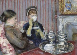 The Tea, about 1880 by Mary Cassatt