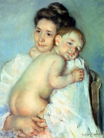 The Young Mother by Mary Cassatt