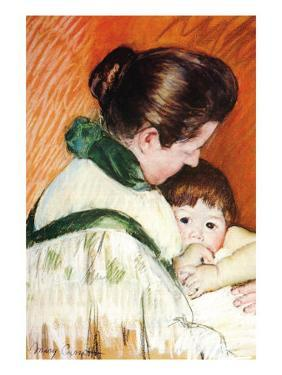 Woman and Child by Mary Cassatt