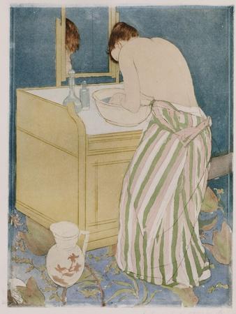 Woman Bathing, 1890-91