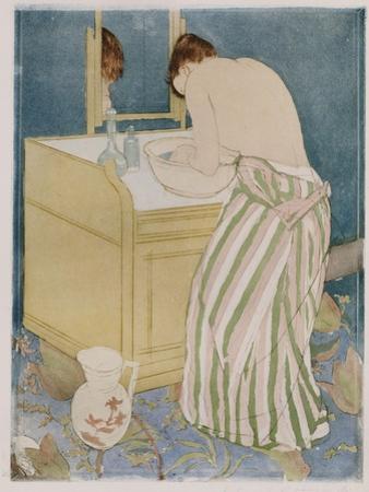 Woman Bathing, 1890-91 by Mary Cassatt
