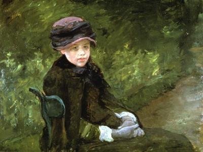 Young Lady in the Park, C1880 by Mary Cassatt