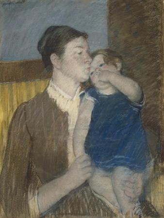 Young Mother, 1888 by Mary Cassatt