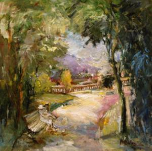 Park, no. 3 by Mary Dulon