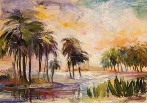 Sun on the Water by Mary Dulon