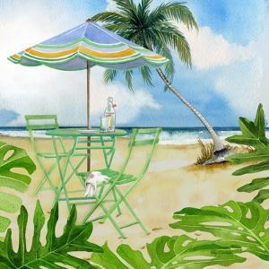 Beachside Dining 1 by Mary Escobedo