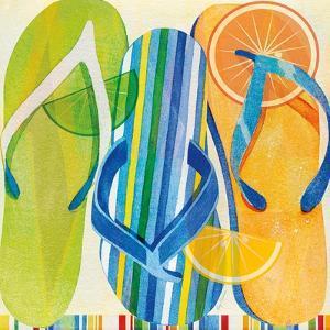 Holiday Flip Flops by Mary Escobedo