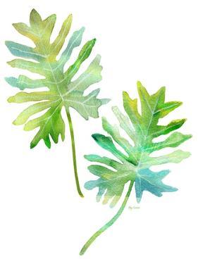 Watercolor Tropical 2 by Mary Escobedo
