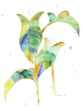 Watercolour Tropical 4 by Mary Escobedo