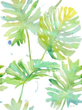 Watercolour Tropical Pattern 1 by Mary Escobedo