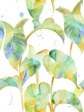 Watercolour Tropical Pattern 2 by Mary Escobedo