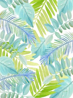 Watercolour Tropical Pattern 3 by Mary Escobedo