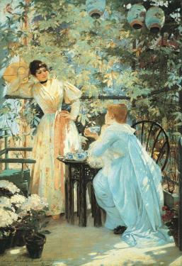 Five O'Clock Tea, 1891 by Mary Fairchild MacMonnies