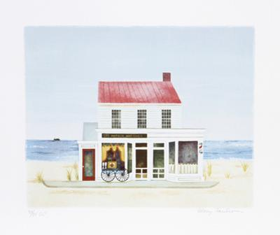 Sag Harbor Antique Shop by Mary Faulconer