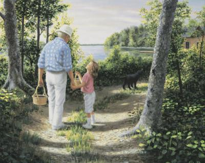 Picking Berries by Mary G. Smith