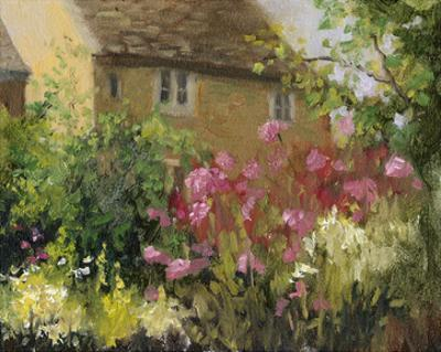 Cotswold Cottage IV by Mary Jean Weber