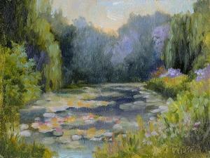 Monet's Garden I by Mary Jean Weber