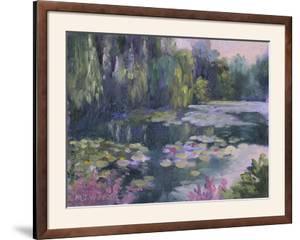 Monet's Garden II by Mary Jean Weber