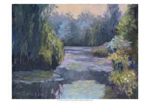 Monet's Garden III by Mary Jean Weber