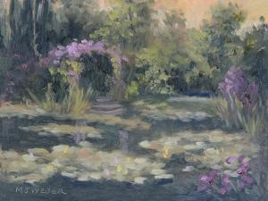 Monet's Garden IV by Mary Jean Weber