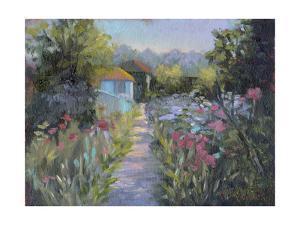 Monet's Garden V by Mary Jean Weber