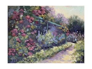 Monet's Garden VI by Mary Jean Weber