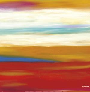 Prairie Abstract 9 by Mary Johnston