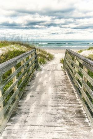 Seaside Entry by Mary Lou Johnson