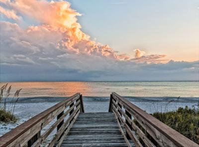 Tranquility Walk by Mary Lou Johnson