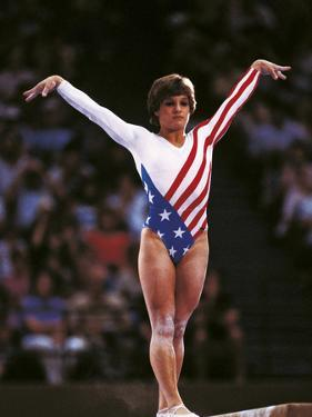 Mary Lou Retton in the Competition