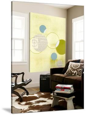 Light Lime Word Bubble by Mary Margaret Briggs