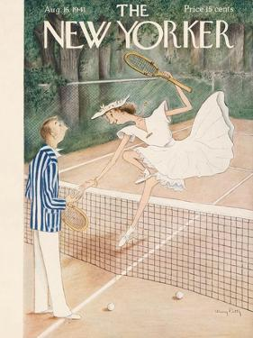 The New Yorker Cover - August 16, 1941 by Mary Petty