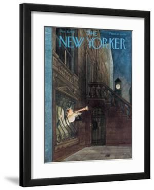 The New Yorker Cover - December 31, 1949 by Mary Petty