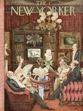 The New Yorker Cover - February 4, 1950 by Mary Petty