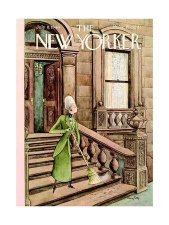 The New Yorker Cover - July 8, 1944
