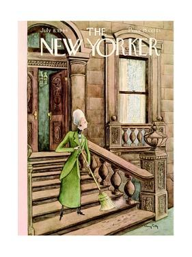 The New Yorker Cover - July 8, 1944 by Mary Petty