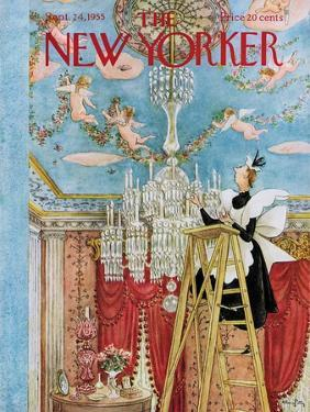 The New Yorker Cover - September 24, 1955 by Mary Petty