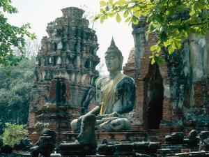 Buddhist Sculpture, Thailand by Mary Plage