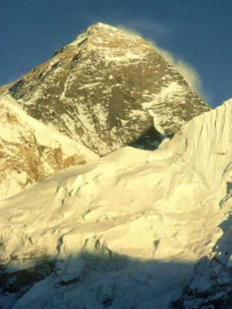 Mt. Everest at Sunset, Nepal by Mary Plage