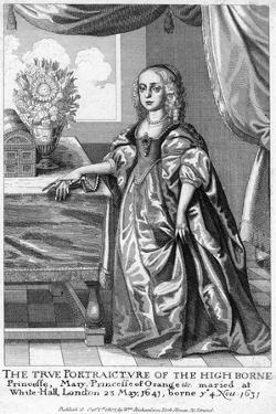 Mary, Princess of Orange, Daughter of Charles I, 1802