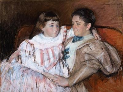 Louisine Havemeyer and Her Daughter Electra, 1895 by Mary Stevenson Cassatt