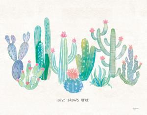Bohemian Cactus I Love by Mary Urban