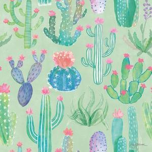 Bohemian Cactus Step 01C by Mary Urban