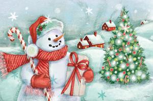 Classic Snowmen I by Mary Urban