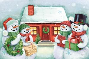 Classic Snowmen III by Mary Urban